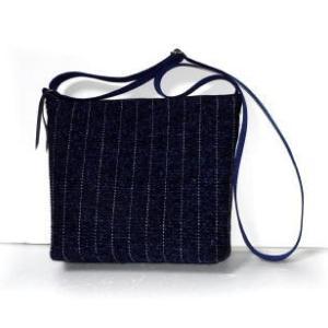 ◆ 男性用の裂き織りショルダー……◆
