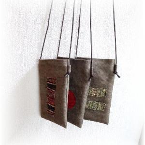 ◆ 柿渋染めの布を使って……その2 ◆