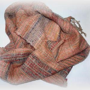 ◆ 裂き織りマフラー2枚目が完成です!!◆