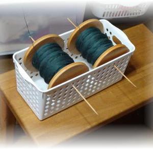 ◆ 大管に糸を巻きました……◆