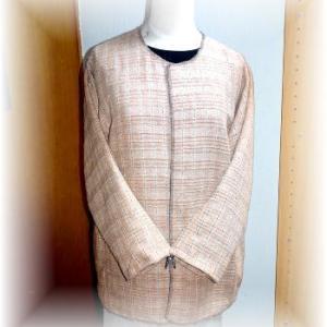 ◆ ジャケットを縫っています……◆