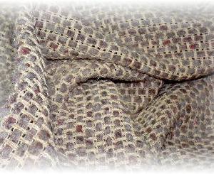 ◆ 模紗織りでポンチョ風ベスト……◆