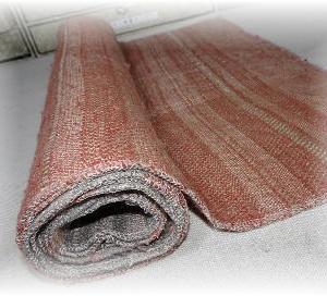 ◆ グレーの布の仕上げをしてみました……◆