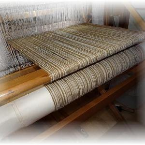 ◆ 試し織り……◆