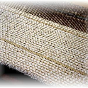 ◆ 模紗織りで織り始めました……◆