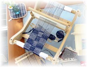 ◆ 昨日は手織り教室でしたが……◆