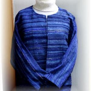 ◆ 青色ジャケットが完成!!◆