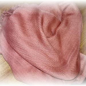 ◆ ストールが織り上がりましたが……◆