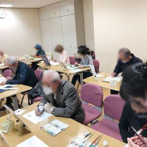 【水彩画教室Pastel】受講者募集中です!