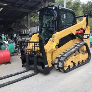 伐採工事-重機紹介「CAT コンパクトトラックローダ 259D」㈱ハナツカコンストラクション