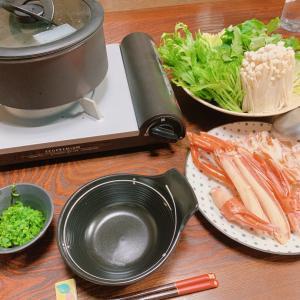 ひとりカニ鍋