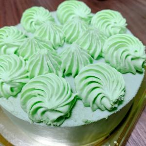 糖質制限のケーキなんてあるんだね(夕食は豚しゃぶです)