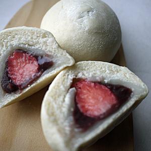 季節限定・大人気!の苺大福パン作りませんか♪