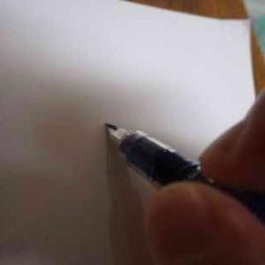 インクが出ない・・・
