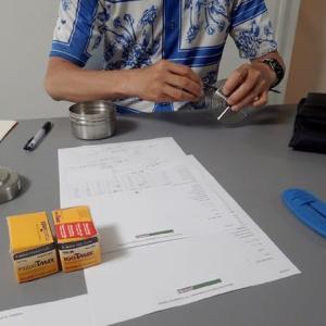 銀塩写真講座 Step1 / 3日目 モノクロフィルム現像実習1:一連の作業工程を体験