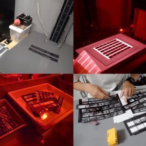 銀塩写真講座 Step1 / 4日目 プリント実習1:密着プリントを作る