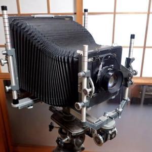 大型カメラ体験講座 / 1日目 8x10 & 4x5カメラでの撮影