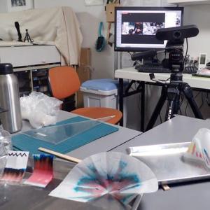 創作実験クラブ / 9日目 可視化実験:クロマトグラフィー応用実験&作品展示報告