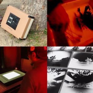 銀塩写真講座 Step1 / 2日目 ピンホールカメラ実習2:撮影・現像・反転プリント