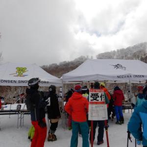 野沢温泉スキー場【2021/22ニューモデルスノーボード試乗会】の様子