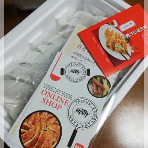 ボリューム満点!!肉汁じゅわ~~~ #米の娘ぶた餃子