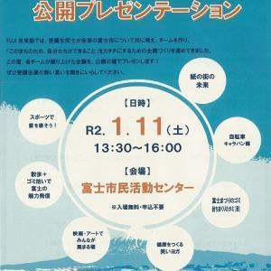 吉原での映画上映が楽しみ! 第五期FUJI未来塾の公開プレゼンテーション