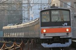 再び武蔵野線205系の葬式鉄