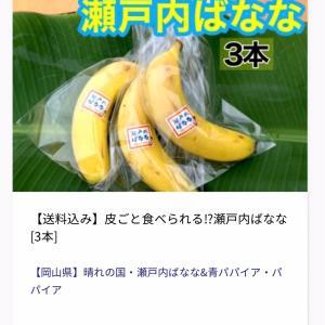 大切な人に食べさせたい!皮ごと食べられる無農薬瀬戸内バナナ