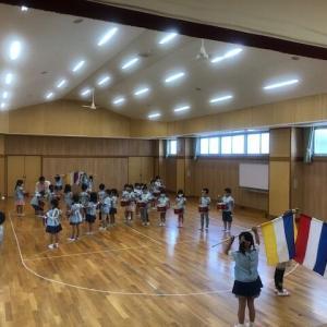 『音楽教室』♫運動会の練習もしました