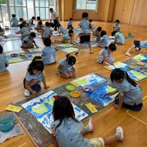 絵画教室『雨の日』 ☔