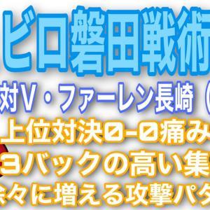 ジュビロ磐田対V・ファーレン長崎戦術レポ!〜0-0でも見えた光明〜J2リーグ(第19節)