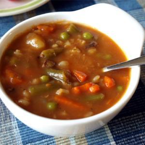 キャンベル的牛肉と野菜のスープ