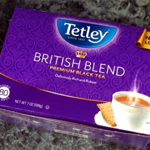 Tetleyの紅茶