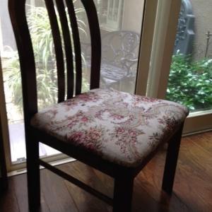ゴブラン織りの椅子