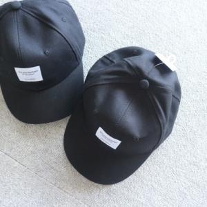 ダイソーで買える子供のおそろ帽子。