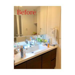【整理収納実例】安心して着替えられる洗面脱衣所の整理収納
