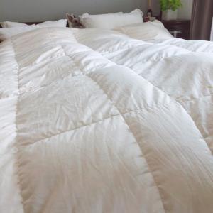 羽毛布団を宅配クリーニングに出しました。そして我が家の寝具事情