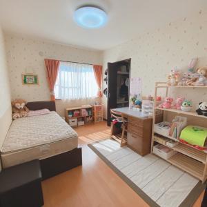 【整理収納実例】小学一年生の可愛いお部屋が完成♪