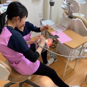 新人歯科衛生士の自主トレ