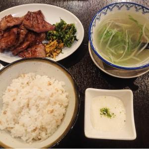 牛タン焼専門店 司 東口店で牛タン定食を食べてきた
