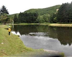 またまた赤井川村の管釣りへ(Tomo PlayPark=トモ・プレイパーク、北海道)