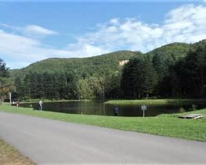 初秋、2週ぶりに赤井川村の管釣りへ(Tomo PlayPark=トモ・プレイパーク、北海道)