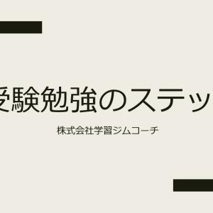 【受験勉強のステップ】