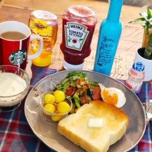 コロナ支援のお品で美味しい朝食