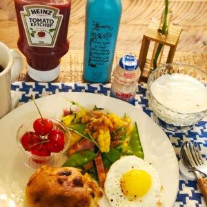 爽やかな朝食