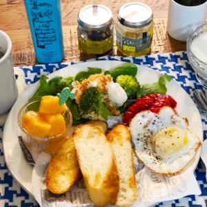 美味しい食べ方発見な朝食