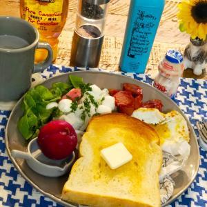 花畑牧場ポッコンチーニとパワーフードな朝食