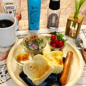ゆったり優雅な気分で朝食♡