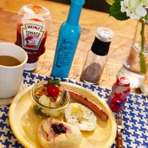 お気に入りお惣菜屋さんな朝食