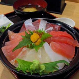 特上海鮮丼定食